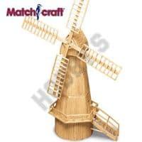 Hobby's Matchcraft - Dutch Windmill Matchstick Kit # 11493